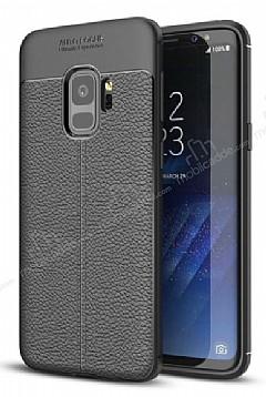 Dafoni Liquid Shield Premium Samsung Galaxy S9 Siyah Silikon Kılıf