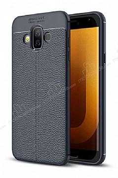Dafoni Liquid Shield Premium Samsung Galaxy J7 Duo Lacivert Silikon Kılıf