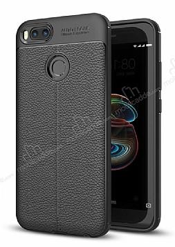 Dafoni Liquid Shield Premium Xiaomi Mi 5X Siyah Silikon Kılıf