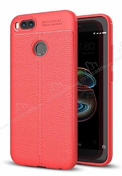Dafoni Liquid Shield Premium Xiaomi Mi 5X Kırmızı Silikon Kılıf