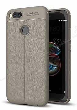 Dafoni Liquid Shield Premium Xiaomi Mi 5X / Mi A1 Gri Silikon Kılıf