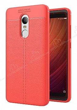 Dafoni Liquid Shield Premium Xiaomi Redmi Note 4 / Redmi Note 4x Kırmızı Silikon Kılıf