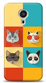 Meizu MX5 Four Cats Kılıf