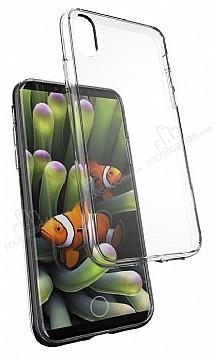 Dafoni Membrane iPhone X Ultra İnce Şeffaf Silikon Kılıf