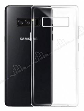 Dafoni Membrane Samsung Galaxy Note 8 Ultra İnce Şeffaf Silikon Kılıf