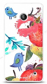 Dafoni Microsoft Lumia 550 Water Color Kiss K�l�f