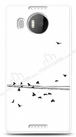 Dafoni Microsoft Lumia 950 XL Flying Birds Kılıf