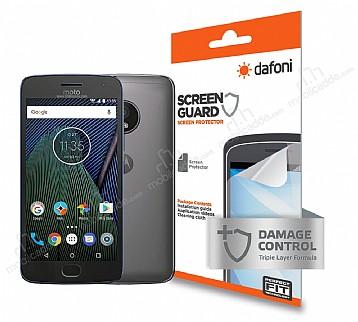 Dafoni Motorola Moto G5 Ön + Arka Darbe Emici Full Ekran Koruyucu Film