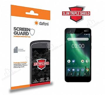 Dafoni Nokia 2 Slim Triple Shield Ekran Koruyucu