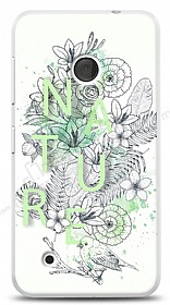 Dafoni Nokia Lumia 530 Nature Flower K�l�f
