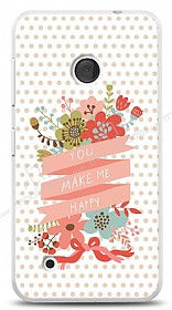 Dafoni Nokia Lumia 530 You Make Me Happy Kılıf