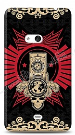 Dafoni Nokia Lumia 625 Skull Nation K�l�f