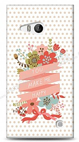 Dafoni Nokia Lumia 730 You Make Me Happy K�l�f
