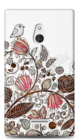 Nokia XL Draw Bird Kılıf