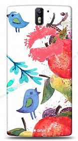 Dafoni OnePlus One Water Color Kiss K�l�f