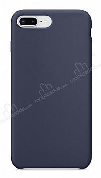 Dafoni Orjinal Series iPhone 7 Plus / 8 Plus Lacivert Silikon Kılıf