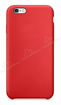 Dafoni Orjinal Series iPhone 6 / 6S Kırmızı Silikon Kılıf