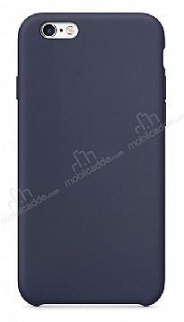 Dafoni Orjinal Series iPhone 6 Plus / 6S Plus Lacivert Silikon Kılıf