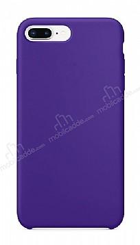 Dafoni Orjinal Series iPhone 7 Plus / 8 Plus Mor Silikon Kılıf