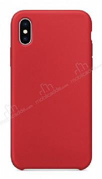 Dafoni Orjinal Series iPhone X Kırmızı Silikon Kılıf