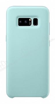 Dafoni Orjinal Series Samsung Galaxy Note 8 Su Yeşili Silikon Kılıf