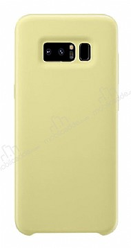 Dafoni Orjinal Series Samsung Galaxy Note 8 Sarı Silikon Kılıf