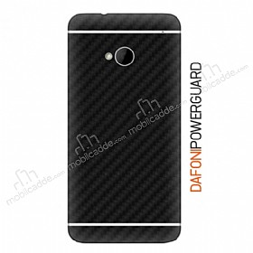 Dafoni PowerGuard HTC One Arka Karbon Fiber Kaplama Sticker