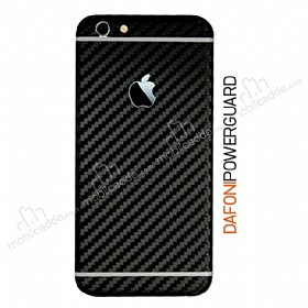 Dafoni PowerGuard iPhone 6 Plus Arka Karbon Fiber Kaplama Sticker