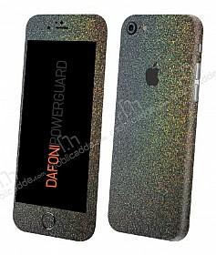 Dafoni PowerGuard iPhone 7 / 8 Ön + Arka + Yan Simli Siyah Kaplama Sticker