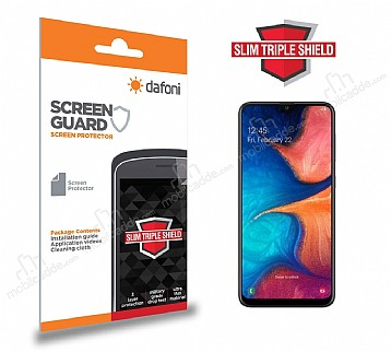 Dafoni Samsung Galaxy A10 Slim Triple Shield Ekran Koruyucu