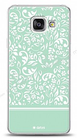 Samsung Galaxy A3 2016 Green Flower Kılıf