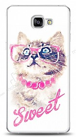 Dafoni Samsung Galaxy A9 Sweet Cat K�l�f