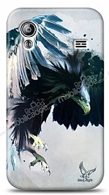 Dafoni Samsung Galaxy Ace S5830 Black Eagle Kılıf