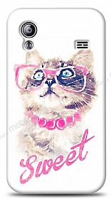 Dafoni Samsung Galaxy Ace S5830 Sweet Cat Kılıf