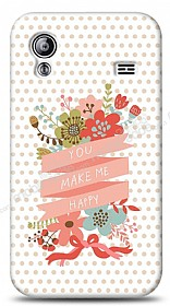 Dafoni Samsung Galaxy Ace S5830 You Make Me Happy Kılıf
