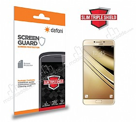 Dafoni Samsung Galaxy C5 Slim Triple Shield Ekran Koruyucu