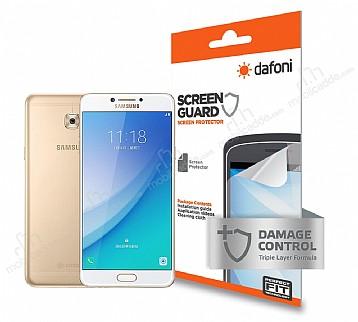 Dafoni Samsung Galaxy C7 Pro Ön + Arka Darbe Emici Full Ekran Koruyucu Film