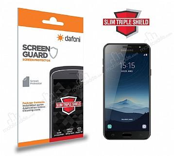 Dafoni Samsung Galaxy C8 Slim Triple Shield Ekran Koruyucu