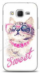 Samsung Galaxy Core Prime Sweet Cat Kılıf