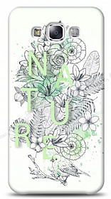 Dafoni Samsung Galaxy E5 Nature Flower K�l�f