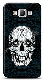 Samsung Galaxy Grand Max Black Skull Kılıf