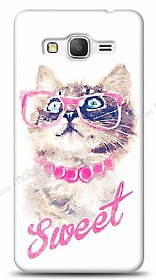 Dafoni Samsung Galaxy Grand Prime Sweet Cat K�l�f