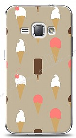 Dafoni Samsung Galaxy J1 2016 Ice Cream K�l�f
