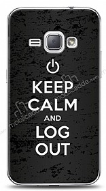 Dafoni Samsung Galaxy J1 2016 Keep Calm And Log Out K�l�f