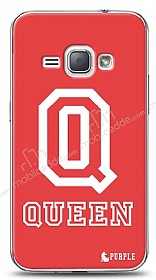 Dafoni Samsung Galaxy J1 2016 Purple Queen K�l�f