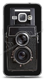 Dafoni Samsung Galaxy J1 2016 Retro Photo K�l�f