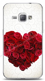 Dafoni Samsung Galaxy J1 2016 Rose Love 2 K�l�f