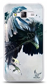 Dafoni Samsung Galaxy J1 Ace Black Eagle Kılıf