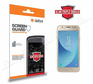 Dafoni Samsung Galaxy J3 2017 Slim Triple Shield Ekran Koruyucu