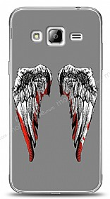 Dafoni Samsung Galaxy J3 2016 Bloody Angel K�l�f